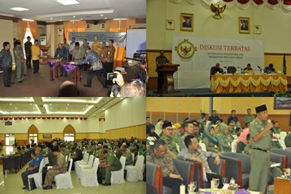 Diskusi Panel tentang Pengawasan Migas di Natuna (Natuna, 10 Maret 2014)